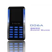 006A Mini Audio Guide Device 8 Languages Handheld Electronic Tour Guide Systems Manufactures