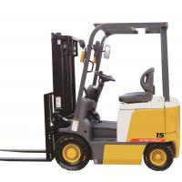 China 3000mm Lifting Height  AC Motor Power 1.5ton Electric Forklift Truck on sale