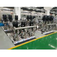 stainless steel water booster pump station for high rise building Manufactures