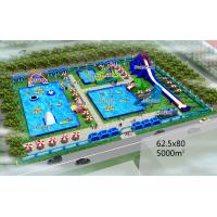 Quality PVC Material Customized Inflatable Products / Water Park Games For Outdoor for sale