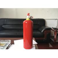 1kg Dry Powder Fire Extinguisher Red Portable Fire Fighting Equipment For Car Manufactures