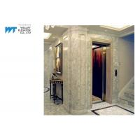 Luxury Villa Elevator adopts LED Energy-saving Lighting with VVVF Control Safe and Low Noise Manufactures