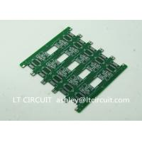 Pannelized Double Layer Making Printed Circuit Boards RoHS Hot Air Solder Level Manufactures