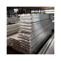China Extrusion Solid Aluminum Square Bar 5 - 500mm Outer Diameter For Construction 6063T5 on sale