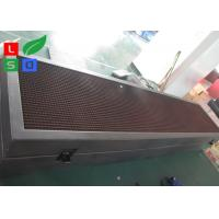 Quality Outdoor Waterproof Programmable LED Moving Sign , 10 mm Pixels Outdoor LED for sale