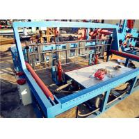 Buy cheap 7.5kw Wire Mesh Crimping Machine , Steel Mesh Machine 15-30 Times / Min from wholesalers