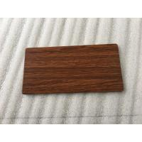 Quality Waterproof Wood Grain Aluminium Composite Panel Lightweight Building Materials for sale