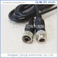 Custom 4 Pin Rear View Video Cable For Backup Camera , 12V Or 24V Volta Manufactures