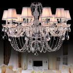 European Style Crystal Chandeliers Modern LED Chandeliers For Living Room Kitchen lustres de sala de cristal Wedding Manufactures