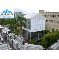 Buy cheap Customized Size Strong Frame Double Decker Waterproof Tent For Exhibition With ABS Wall from wholesalers