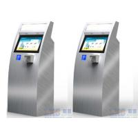 China 17 Inch Health Kiosk Touch Screen Information Pharmacy With Multimedia Speaker on sale