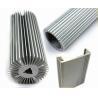 Architectural Aluminium Profile , Circular Heatsink Extruded Aluminium Profile Manufactures