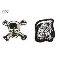 China Twill Background Fabric Custom Motorcycle Patches With Sew on Backing on sale