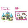 90 Pcs DIY Assemble Magetic Children's Plastic Building Blocks Multicolor Non - for sale
