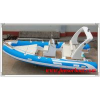 Durable 18 Foot Hard Bottom Inflatable Rib Boats 10 Person Inflatable Boat Manufactures