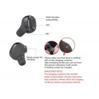 Quality Invisible Wireless Bluetooth Earbuds Headphones Twins Stereo Black Color for sale