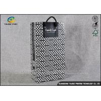 China Premium Printed Paper Shopping Bags Decorated Matte Lamination Finishing on sale