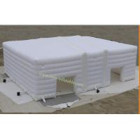 Quality Inflatable Tent for Wedding , White Inflatable Camping Tent Inflatable Tent for Event for sale