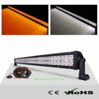 AMBER WHITE 240W LED Spot Flood Combo Work Light Bar Fog Driving Lights Lamp with Cus Manufactures
