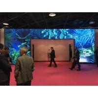 P4 led video wall indoor Fixed Installation led display screen CE / ROHS / FCC Manufactures