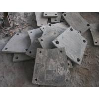 High Cr Steel Blind Plates Cement Mill Liners Hardness HRC43-52 Manufactures
