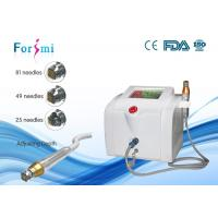 CE Approved Portable Fractional RF Machine For Face Lift, Wrinkles Removal Manufactures