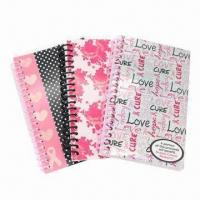 Notebooks, Available in Various Sizes, OEM Orders are Welcome Manufactures