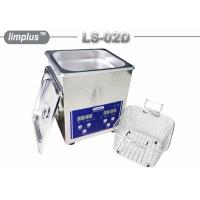 Bentch Top Stainless Steel 2liter Ultrasonic Cleaner Bath Household Use Sterilize Manufactures