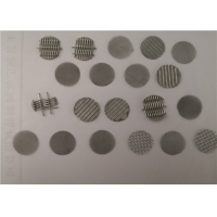 Wire Mesh 304 Grade 0.5mm Stainless Steel Filter Disc Manufactures