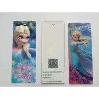 3D Lenticular Personalised Bookmarks For Schools , Bookmark Printing Services Manufactures