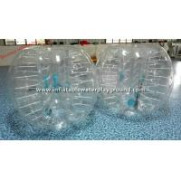 Quality Transparent Adults Inflatable Bubble Ball , Bubble Zorb Football For Outdoor Sports for sale