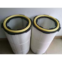 pleated Air dust filter cartridge for graphite dust collector Manufactures