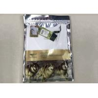 Clear Plastic Clothing Packaging Bags , Underwear Packaging Ziplock Bags 0.14MM Thickness Manufactures
