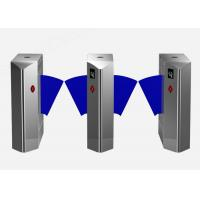 Intelligent Retractable Flap Barrier Gate Wheelchair Or Luggage Turnstile Manufactures