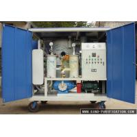 Used Transformer Oil Treatment Machine improve oil's dielectric strength,vacuuming system,fast degas,dewater Manufactures