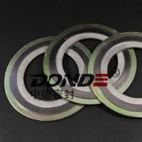 Spiral Wound Gasket with inner and outer ring metal gasket Manufactures