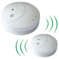 Stand Alone Photoelectric Smoke Detector With Radio Frequency 434MHZ Manufactures