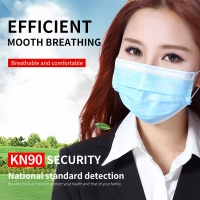 Printing Disposable Mouth Earloop 3 Ply Face Mask Manufactures