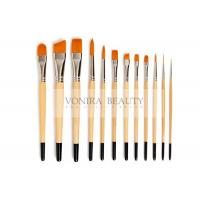 Nylon Body Paint Brushes For Acrylic Oil & Watercolor Student Artist Brushes For Beginners & Fine Art Painters Manufactures