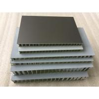 Black FEVE Aluminum Honeycomb Panels , Fireproof Honeycomb Structural Panels  Manufactures