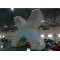 Quality Digital Print Inflatable Paintball Bunkers With 0.6mm PVC Tarpaulin Material for sale