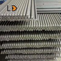 St58 St68 Threaded Drill Rod Stone Drilling Tools With Heat Treatment Process Manufactures