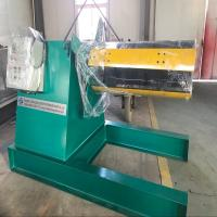 Quality Metal Coil Detached Hydraulic Uncoiler Machine With Straightening Machine for sale