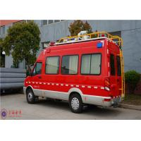 IVECO Chassis Command Fire Trucks Gross Weight 4000kg For Buliding Fire Fighting Manufactures