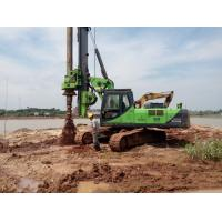 150 KN.M Max Torque KR150C Bored Pile Drilling Rig for 52m Max Drilling Depth Bored Piles Machine Manufactures