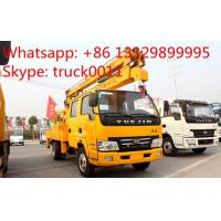IVECO Yuejin 14m-16m high altitude operation truck for sale,hot sale Yuejin 4*2 14-16m aerial working platform truck Manufactures