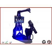 Longcheng VR Station Interactive 9D Simulator Shooting Game Machine VR Gatling Fighting HTC Vive VR Theme Park Manufactures