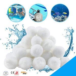 High Efficiency Aquarium Filter Media Bio Fiber Ball For Water Treatment Manufactures