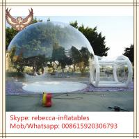 inflatable clear tent outdoor camping inflatable clear air dome tent Manufactures