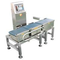 China 8 Inch Full Touch Screen Conveyor Weight Checking Machine Range Max 300g on sale